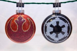Star Wars Insignia Ornaments by cutekick