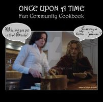 Once Cookbook: Cover by Omorocca
