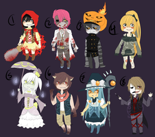 Adopts::Haunted house SOLD by Pandastrophic