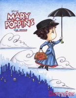 Mary Poppins by DarthxErik