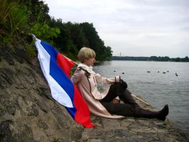 Hetalia Russia Cosplay by nenco