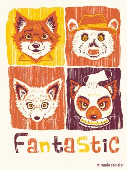Fantastic Mr Fox by mirandajane