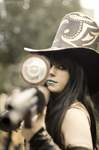Caitlyn Cosplay: Meet the long gun of the law! by MomoeHamaguchi