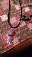 Sackboy Necklace by MaiShark