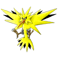 Zapdos colour by Sulfura