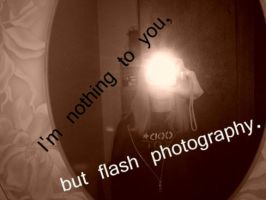 flash photography by xTIFFOHHx