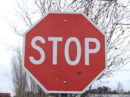 Stop.Sign.002 by NoRulesStock