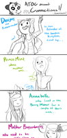 [Sketch] ULTIMATE Connections Comic by Ask-TheRubbermaiden