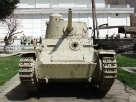Iranian Panzer 38(t) TNHP  Light Tank 1 by fuguestock