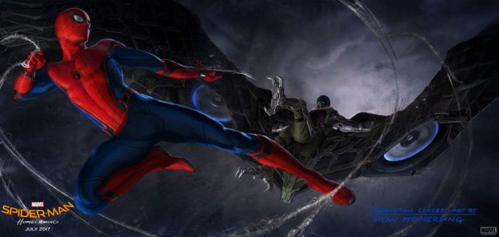 Spider-Man: Homecoming Concept featuring Vulture! by Artlover67