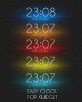Easy Clock for XWidget by boyzonet