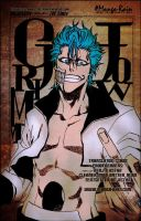 Grimmjow Jaegerjaquez by cmonletsgethigh