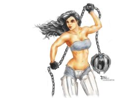 Wrecking Ball Girl Detail by einar036