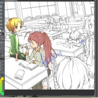 work in progress [classroom] by Dewitrika