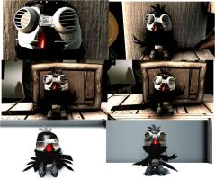 Trickys Lbp2 Screenies-Stickler The Pengaven thing by tricksterwolf13