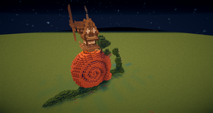 Snail .... thingy by BlockheadGaming