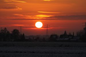 12-12-08 The Sunset 12 by Herdervriend
