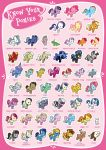 KNOW YOUR PONIES by boxdrink
