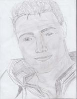 Alistair Drawing by bluey12355