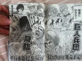 ATTACK ON TITAN SPOILER MIKASA BECOMES A TITAN by HOGAKELUFFY