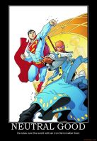 Tangent Superman by The6thhokage