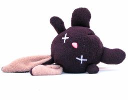 Dead plush bunny by csgirl