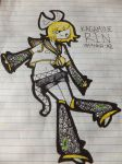 Kagamine Rin: rise by BeautifulBlack-Soul