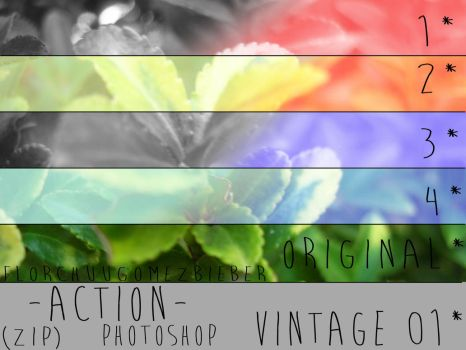 Action Vintage 1* by FlorchuuGomezBieber