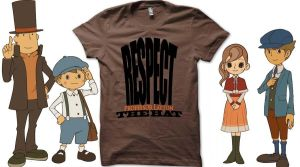 Respect The Hat T-shirt by ChainOfLight