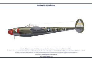 P-38J USAAF 429th FS 1 by WS-Clave