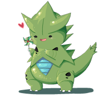 Bouncy Tyranitar by NightFisher