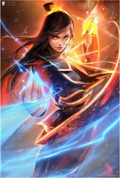 AZULA : YouTube! by rossdraws