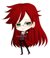 Grell Sutcliff by SeppukuAddict
