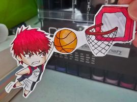 Kagami paper child-slam it tiger!- by MadPandaKira