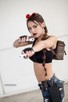 Tomb Raider III Nevada - Lady Croft by FuinurCroft