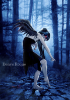 Angel Nocturno by DenysRoqueDesign