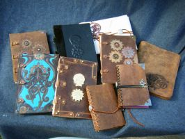 Handmade book collection by MPFitzpatrick