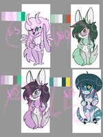 Adoptables for sale~ (Open) by the-Assyrian