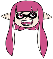 Inkling Head by ItsRamos