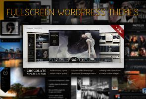 10 Fullscreen Wordpress Themes for Photography by CursiveQ-Designs