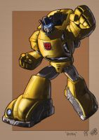 Caliber316's Goldbug by Spydormonkey