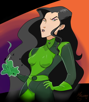 [HALLOWEEN '13] Asami Sato as Shego by MikeSouthmoor