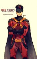 Red Robin_outfit remake by Maby-chan