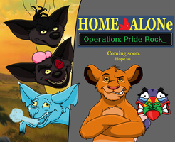 Home Alone: Operation Pride rock by theHyenasSBE