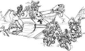 Noise Marines Riding to War by imric1251