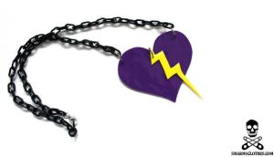lovely lightning necklace by smarmy-clothes