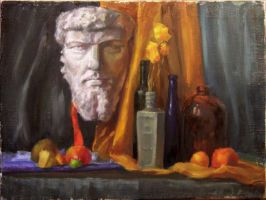 Still Life Drawing4 by creaturedesign