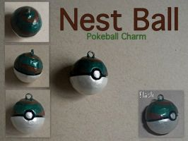 Nest Ball Charm by GandaKris