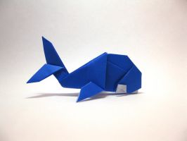Origami Whale by orimin