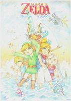 The Legend of Zelda: Wind Waker by GlamForUs